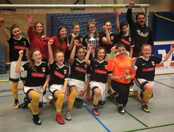 Fussball U15 Madels Sind Stadtmeister Sc Munster 08